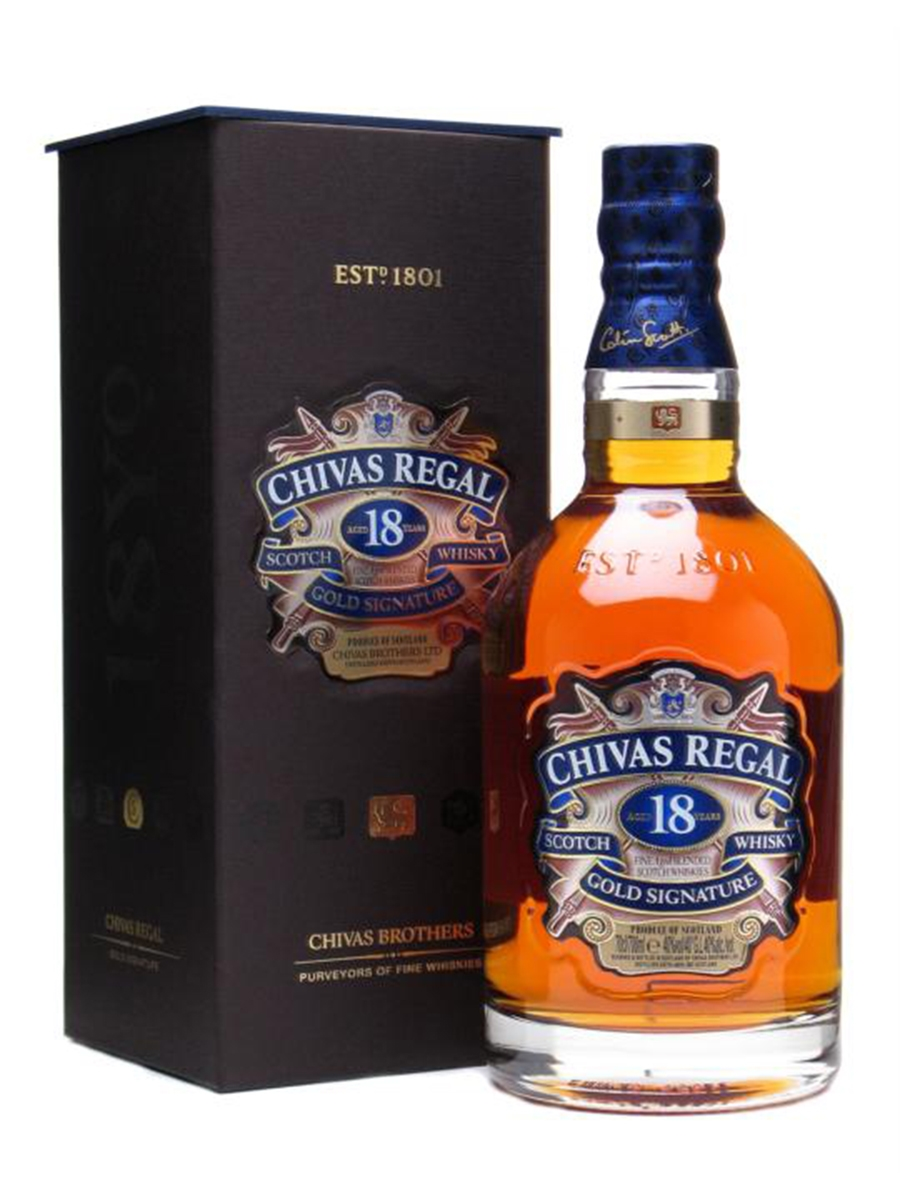 Chivas Regal Whisky 18 Years 70cl
