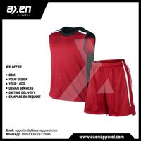 Axen Sublimation High Quality Low Moq Minimum Order Quantity Sialkot Pakistan Amazon New Latest Basket Ball Uniform Jersey Kit
