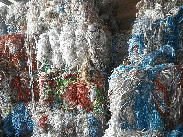Used Stock PP Ropes and PP Strings scrap in BULK