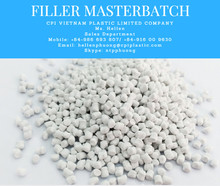 PE FILLER MASTERBATCH 70%-80% CaCO3 FROM VIETNAM