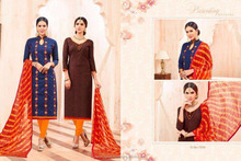 cotton jaquard Work with bombey cotton jaquard salwar kameez