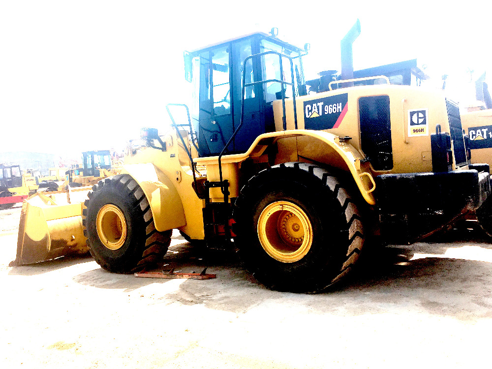 Used caterpillar 966H wheels loader 100% original Japan on sale