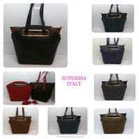 UK Wholesale Ready Stock High Quality Pu Leather Women 2 in 1 Handbag