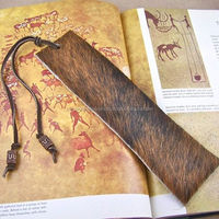 Custom Made Leather Bookmarks Available In