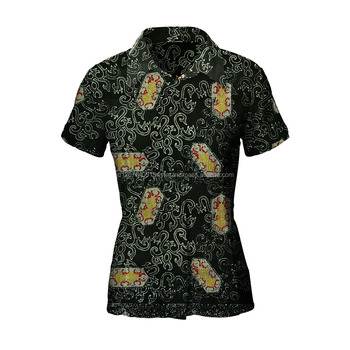 Fashion Shirt Stamped Batik Shirts Indonesia Dayak Shield Pattern