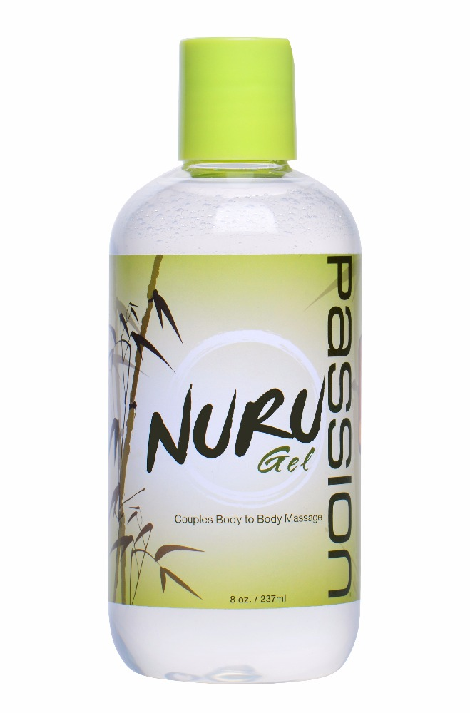 Passion Nuru Couples Body To Body Massage Gel - 8 Ounces great for adult toys sex and masturbation