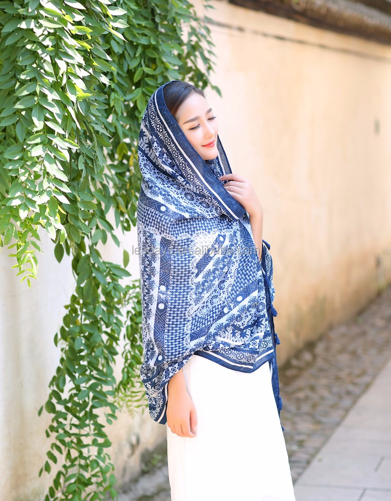 Long fashion soft women sunshine prevent scarf wholesale