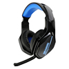 OEM Comfort light big XL size LED 7.1 vibration sound gaming overhead wired gaming headset with microphone