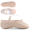 Leather Ballet Dance Shoes Soft Ballet Slippers