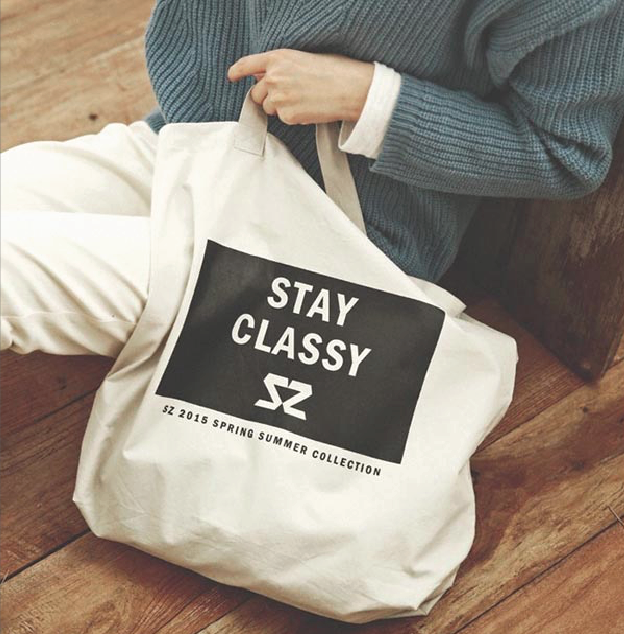 100% Cotton Eco Friendly Personalized Canvas Tote Bag