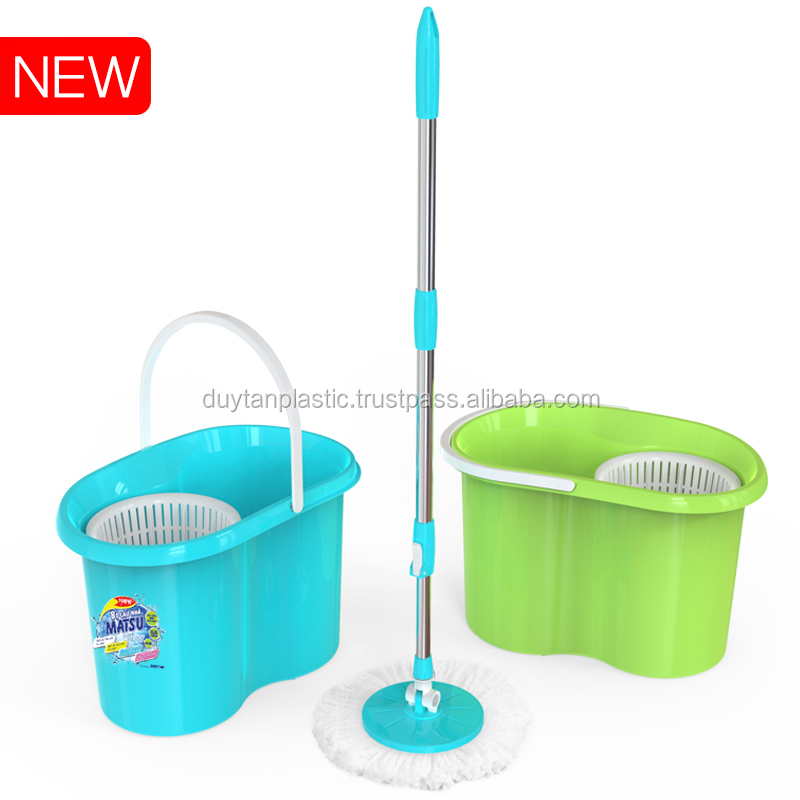 #360 Spinning Mop # Floor cleaning handy mop 9L - No.863 - Duy Tan Plastic - tangkimvan(at)duytan(dot)com