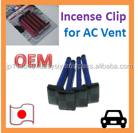 AC Vent Clip Perfume OEM Air Freshener for Automotive