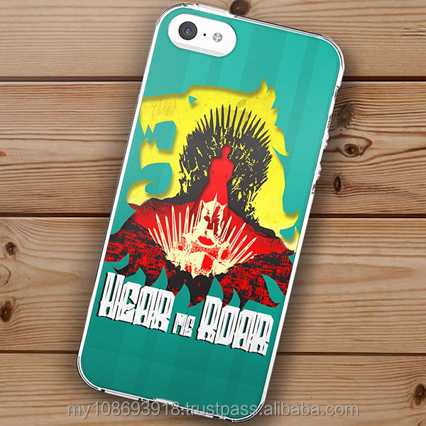Custom Printing Design Game Of Thrones Hard & Soft Slim TPU Case Cover For Phone