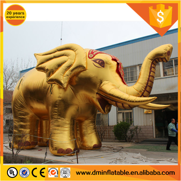 New design outdoor Advertising giant inflatable elephant,inflatable pink elephant,inflatable animals