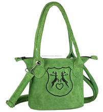 Ladies Bavarian Trachten Dirndl Bags Hand Bag leather bag
