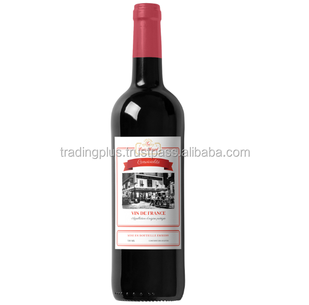 Louis-Morgat Friendliness Wine from France 750ml Hot Product