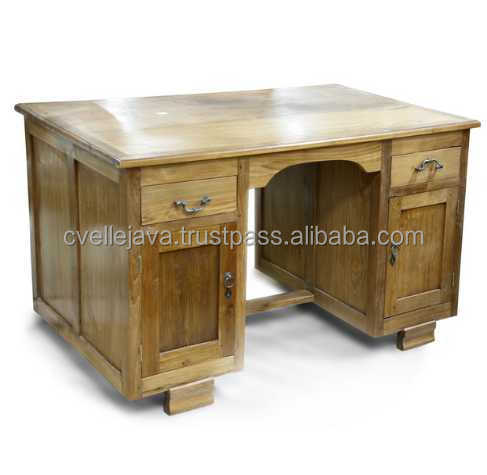 Solid Wooden Furniture Office Desk Antique Style