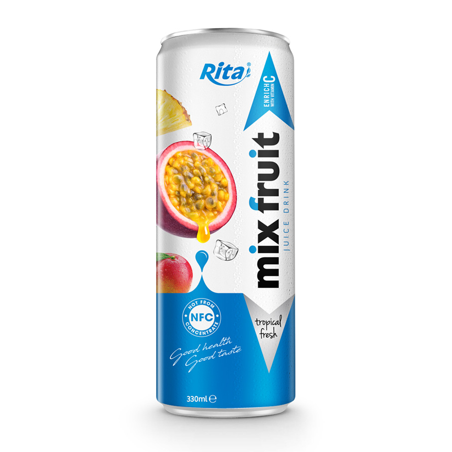 Rita Manufacturer fruit juice from Viet Nam , mixfruit juice drink