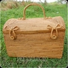 bali ethnic travel bag handmade from rattan ata grass hand woven
