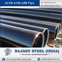 2017 Best Demanded Sturdy, Glossy ASTM A106 GRB Seamless Steel Pipes