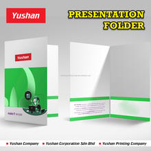 Malaysia Printed Presentation Folder at high quality and low price, available at 2 pocket or 1 pocket, and name card slits