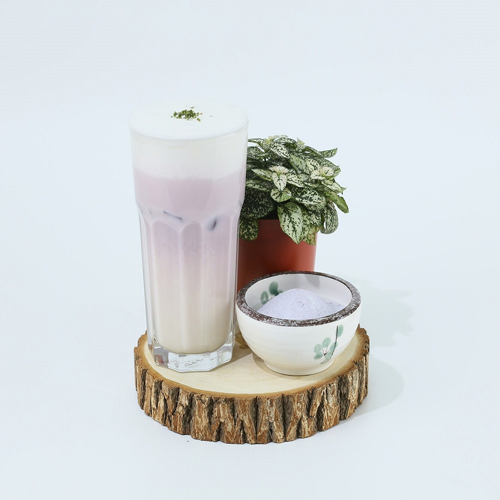 Taiwan Hot Selling blueberry Flavor <strong>Powder</strong> For Bubble Tea