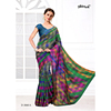 Linen Fancy Uniform Sarees