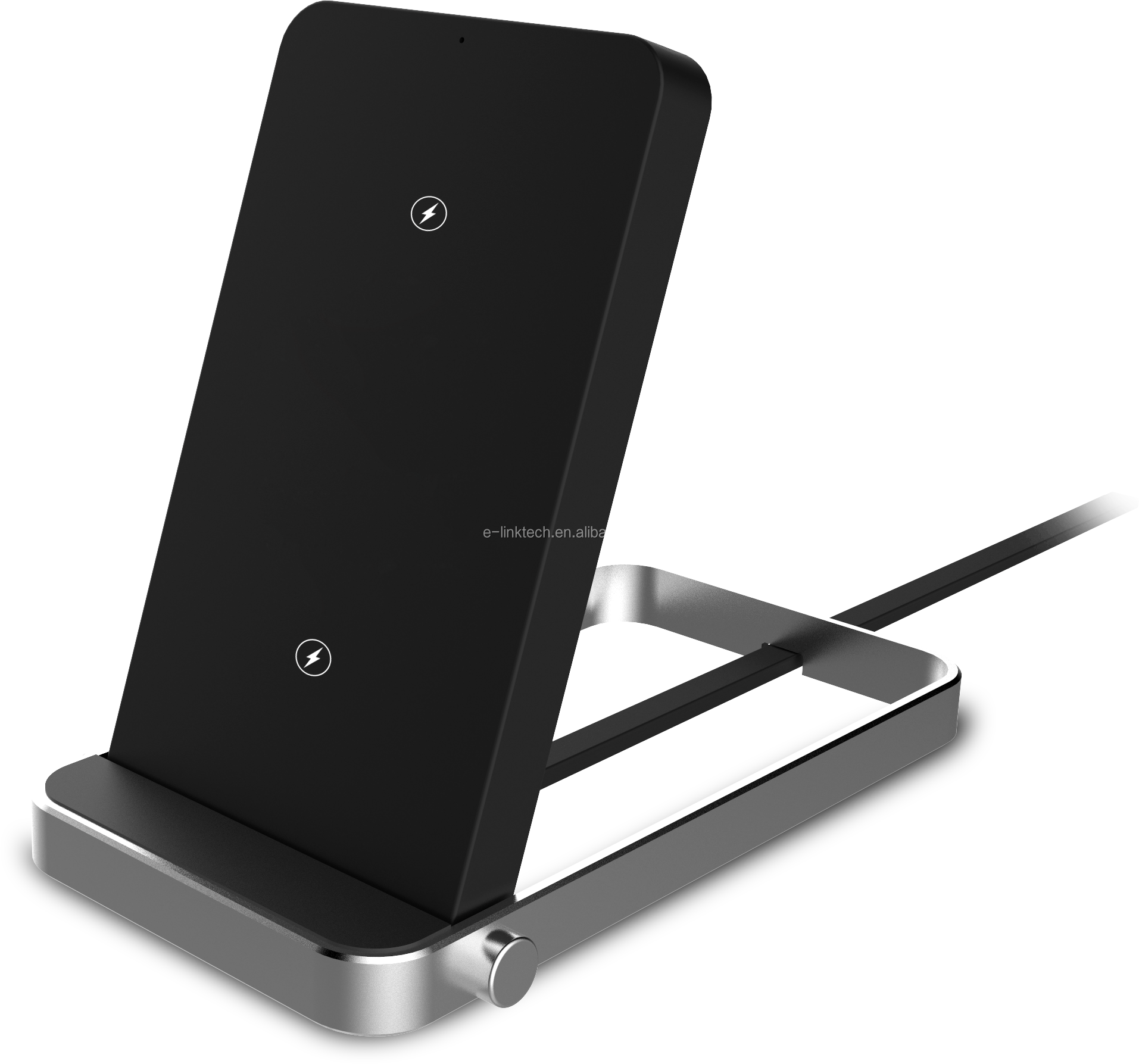 2018 Newest Fast Qi Wireless Charging Pad Stand Adjustable Wireless Charger