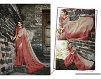 India Ethnic Designer Cotton Sarees Bollywood Party Wear Stylist Saree