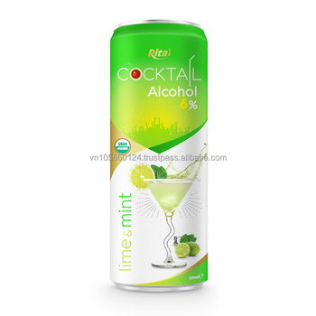 Viet Nam High quality Alcohol lime and mint