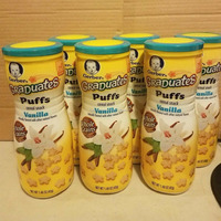 Gerber Graduates Puffs Variety Pack Baby