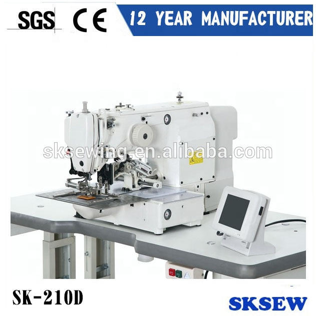 Japan 210D electric pattern industrial sewing machine for garment