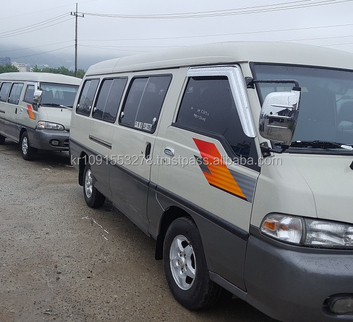 15pasajeros mini bus 15seater used bus Hyundai GRACE 15 coach autobus