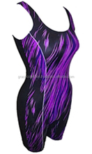 OEM Ladies sublimation swimsuit swimming