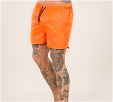 Custom printing mens swim cargo shorts