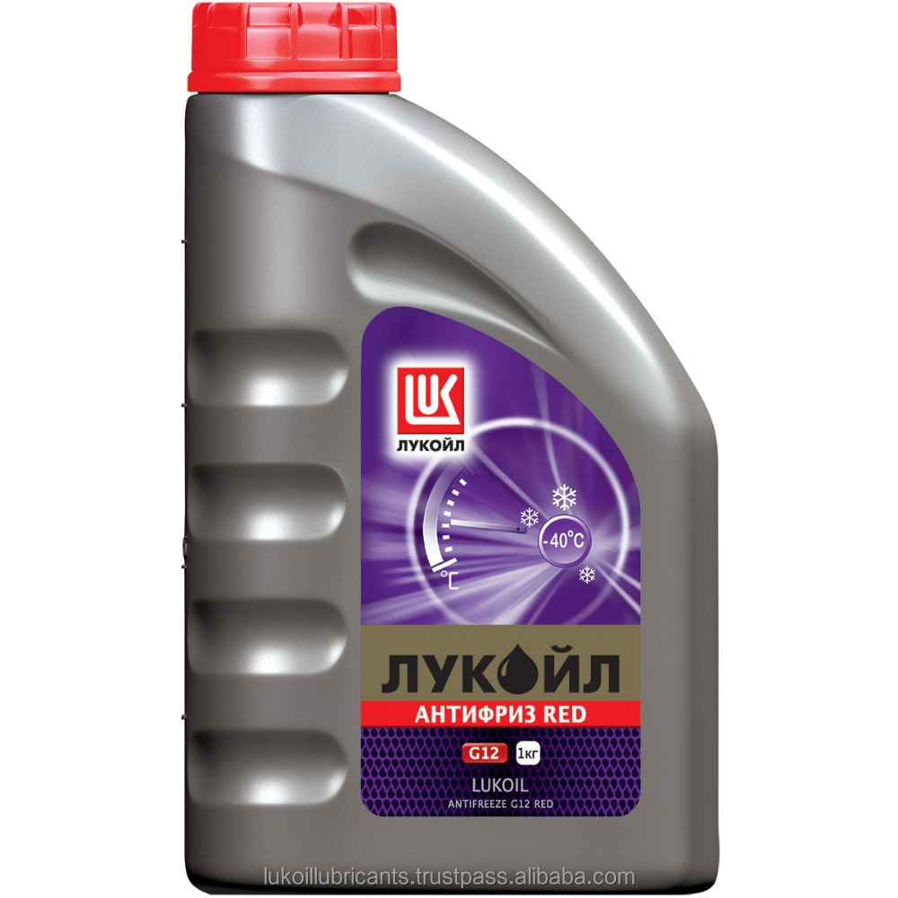 LUKOIL ANTIFREEZE G12 RED - Extended Life Coolant antifreeze, 1 kg