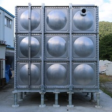 SR TANK - Reliable STS water tank applied seismic design in high quality water tank for water treatment system