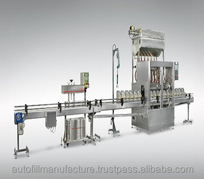AF INLINE VOLUMETRIC PISTON PUMP TOUCHSCREEN FILLING MACHINE