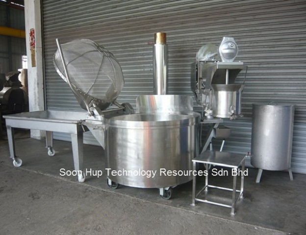 Murukku/Kacang Putih/Indian Snack/Namkeen Machine Forming Set