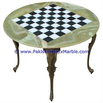 WHOLESALE HIGH QUALITY ONYX TABLES MODERN CHESS TABLE