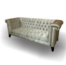 Cherterfield Sofa Furniture Silver - Mahogany Furniture Living Room Sofa sets Indonesia.