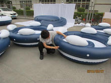 Quality Inspection in Asia - Inflatable water Fun Products