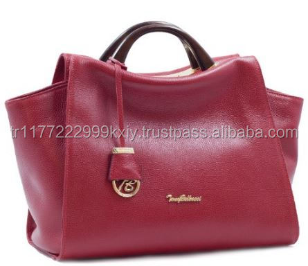 Genuine Leather High Quality New Season Trend Woman Handbags With Your Logo Turkey