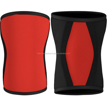 Knee Sleeves High Quality Neoprene 7mm Compression crossfit protective knee wraps powerlifting sleeves