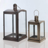 Metal hot selling glass antique home decorative Moroccan outdoor lantern