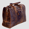 Full Grain Genuine Leather Duffel Travel Overnight Weekend Leather Bag Sports Gym Duffel For Men