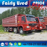 Good Condition Used 2015 Model Sinotruck Howo Dump Truck 8*4