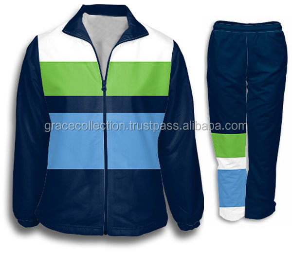 Sports Teams Sublimation Soccer Tracksuits Football Tracksuits