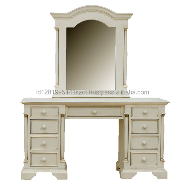 Sale mirror dressers using teak wood and the price is affordable for you