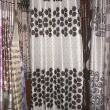 Jacquard 100% polyester Curtain